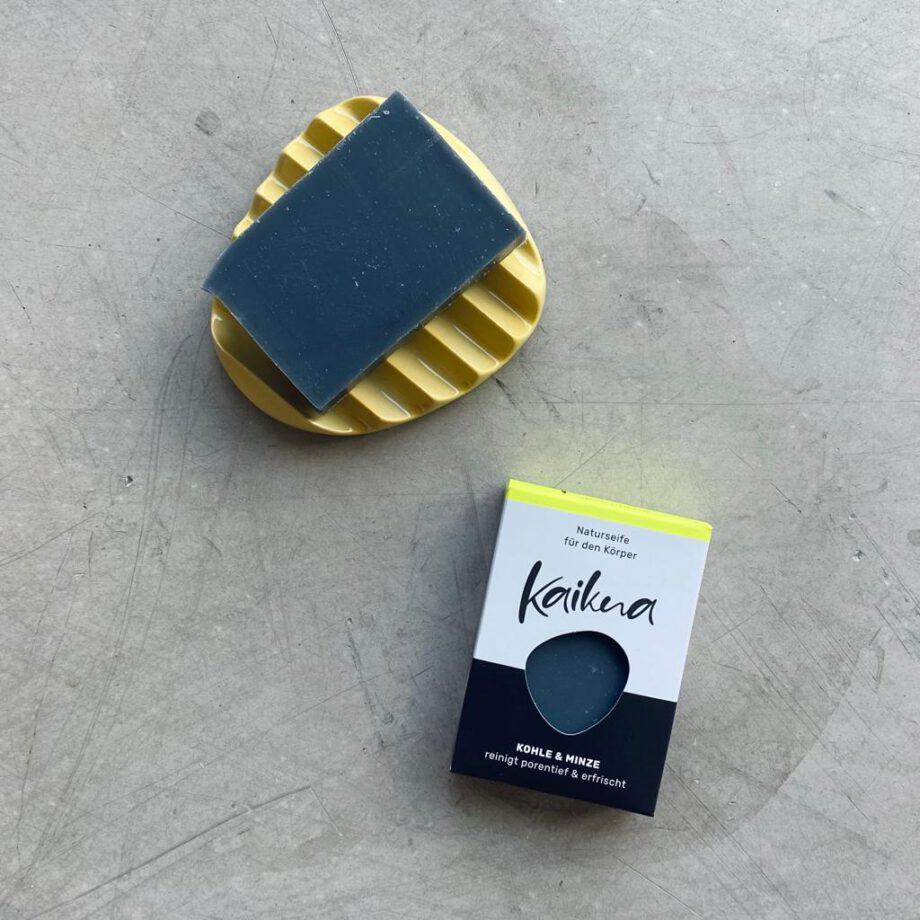 kaikua Seife Kohle & Minze
