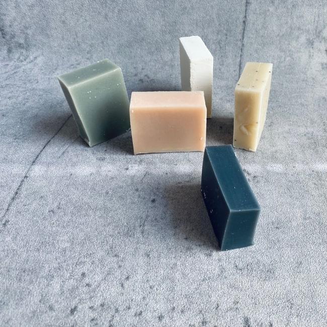 kaikua mini Seifen in fünf verschiedenen Sorten